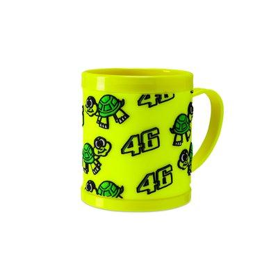 Plastic turtle mug