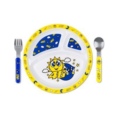 Sun and moon meal set - Multicolor