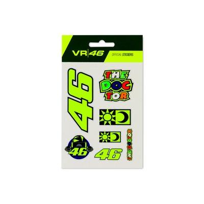 Set Aufkleber VR46 klein - Multicolor