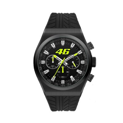 VR46 chrono watch - Black