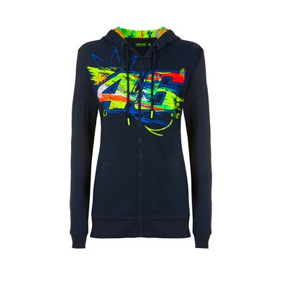Sweat-shirt femme Winter Test - Bleu