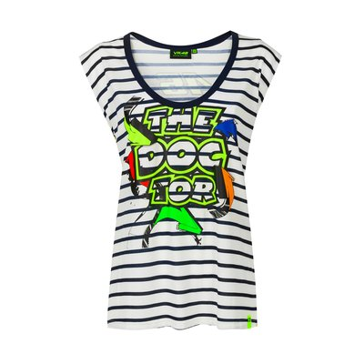 T-Shirt Damen Street Art - Multicolor