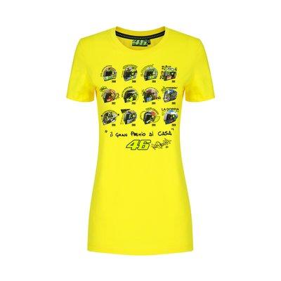 T-shirt casques GP Misano femme
