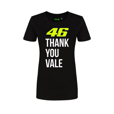 T-shirt Thank you Vale Donna