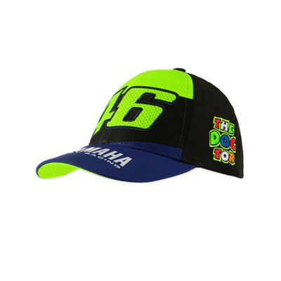 Kappe Yamaha VR46 Kind - Blau Royal