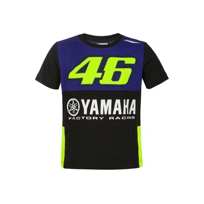 T-Shirt Yamaha VR46 Kinder - Blau Royal