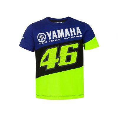 T-shirt Yamaha VR46 bambino