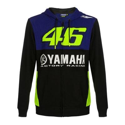 Sweat Yamaha VR46 - Bleu Royal