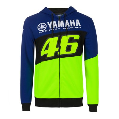 Sweat-shirt Yamaha VR46 - Bleu Royal