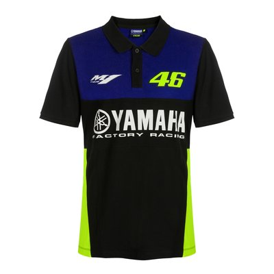 Polo Yamaha VR46 - Blu Royal