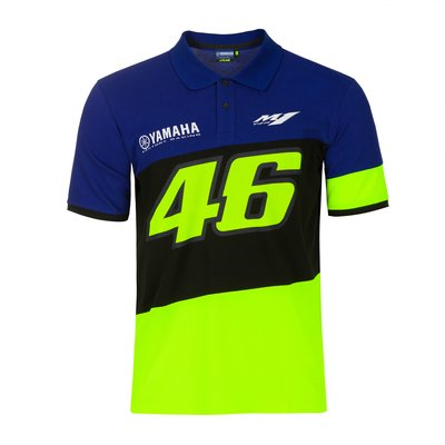 Yamaha VR46 Polo shirt - Royal Blue