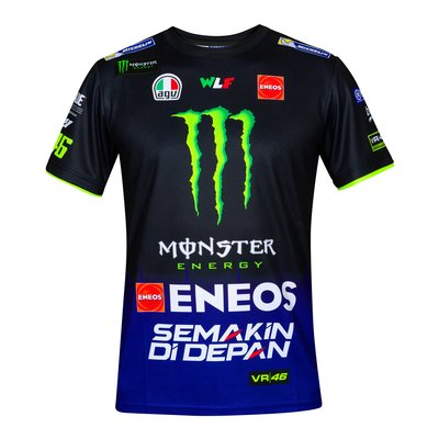 Sponsor replica Yamaha VR46 T-shirt - Royal Blue