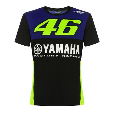 T-Shirt Yamaha VR46 - Blau Royal
