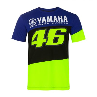 Yamaha VR46 T-Shirt - Blau Royal