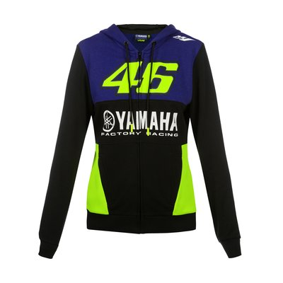 Woman Yamaha VR46 fleece