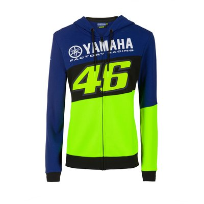 Woman Yamaha VR46 hoodie - Royal Blue