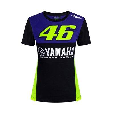 T-shirt Yamaha VR46 donna