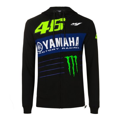Sweat-shirt Yamaha Power Line VR46 - Noir