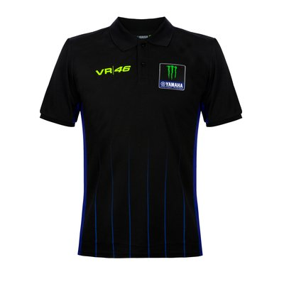 Yamaha Black polo shirt