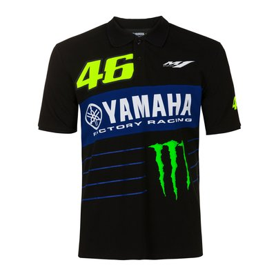 Yamaha Power Line VR46 polo shirt - Black