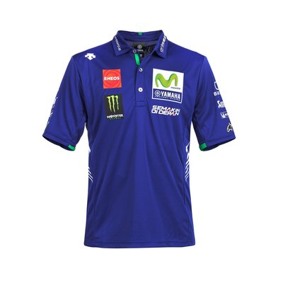 Poloshirt Replik Movistar Yamaha Team 2017