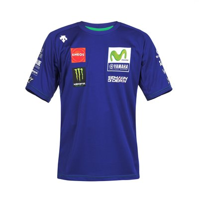 T-Shirt Replik Movistar Yamaha Team 2017