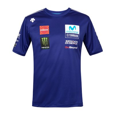 Tee-shirt réplica Movistar Yamaha Team 2018 - Bleu Royal