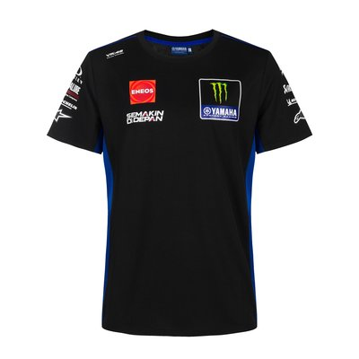 Tee-shirt réplica Monster Energy Yamaha Team 2021