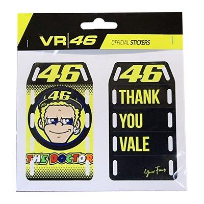 Set d'autocollants Thank you Vale
