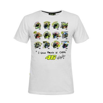 T-shirt caschi GP Misano