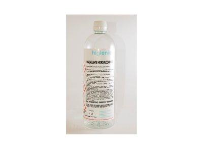Hidroalcohol higienizante 1L - Pack 105 uno. - 5.48€/u (sin IVA)