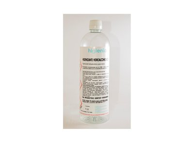 Hidroalcohol higienizante 1L - Pack 15 uno. - 5.92€/u (sin IVA)
