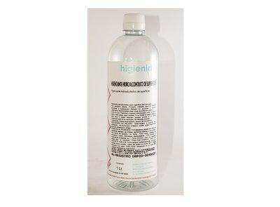 Hidroalcohol higienizante 1L - Pack 15 uno. -5.25€/u (sin IVA)