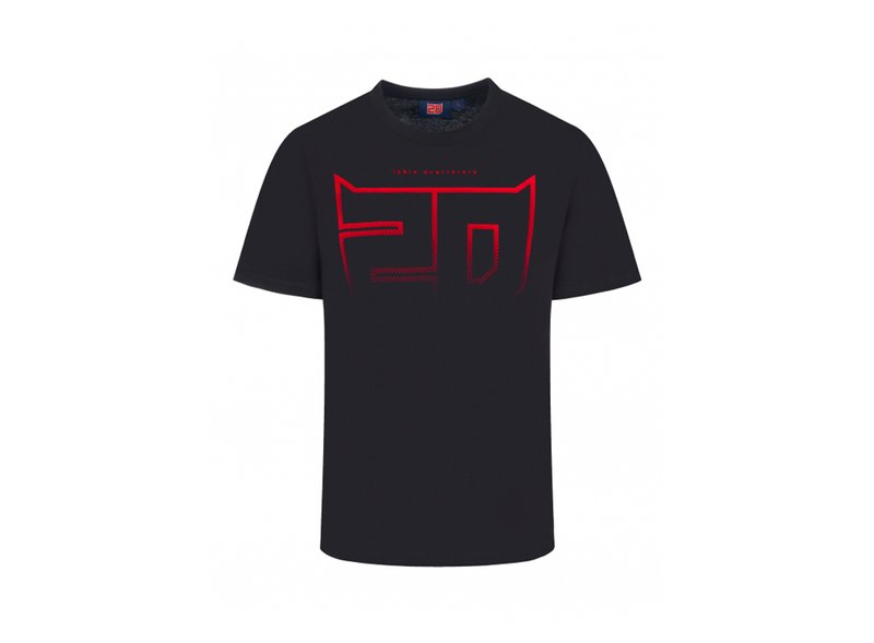 Quartararo 20 T-shirt - Black