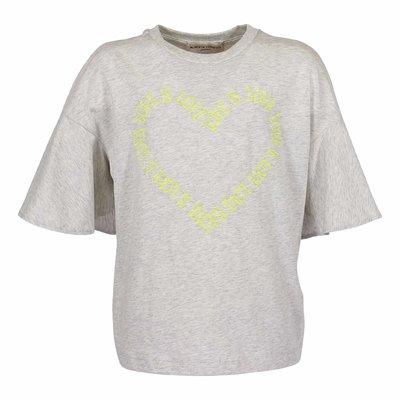 T-shirt grigio melange