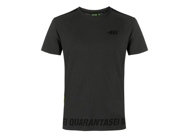 T-shirt Valentino Rossi Quarantasei - Grey