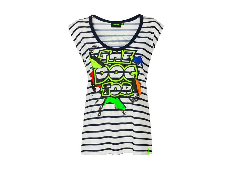 T-shirt femme The Doctor VR46 - Multicolor