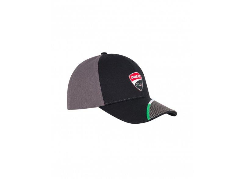 Ducati Corse Logo cap - Black