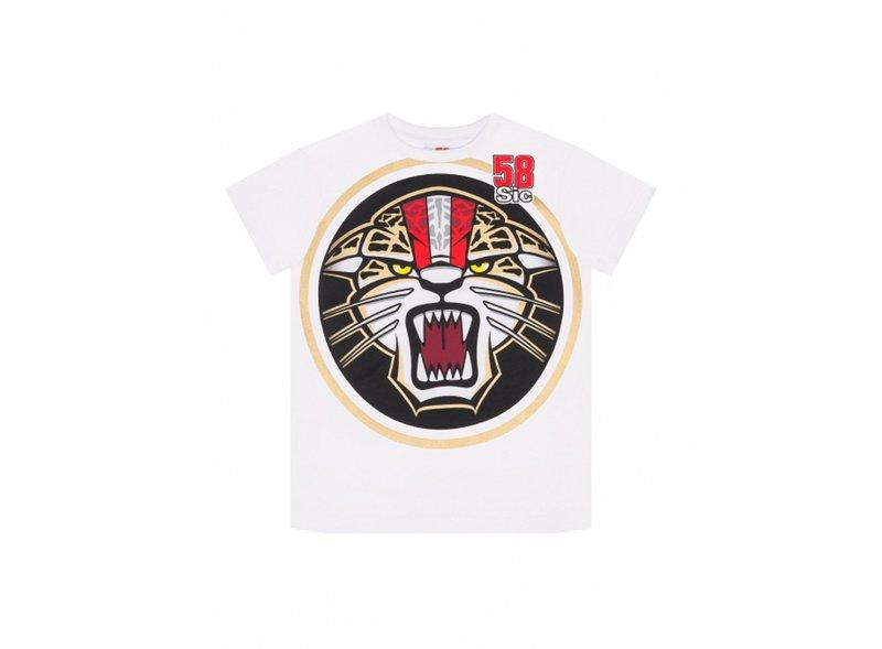 Kid Simoncelli Jaguar T-shirt - White