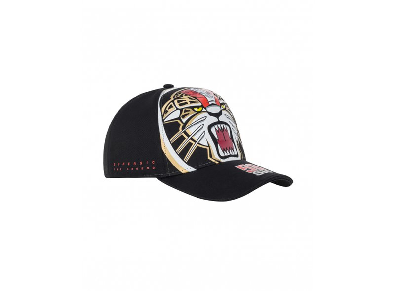Cappellino Simoncelli Jaguar - Black