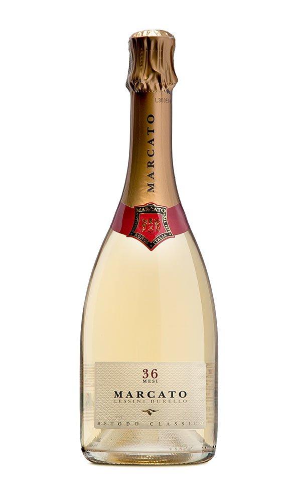 Lessini DOC Durello 36 mesi by Marcato (Italian Sparkling Wine)