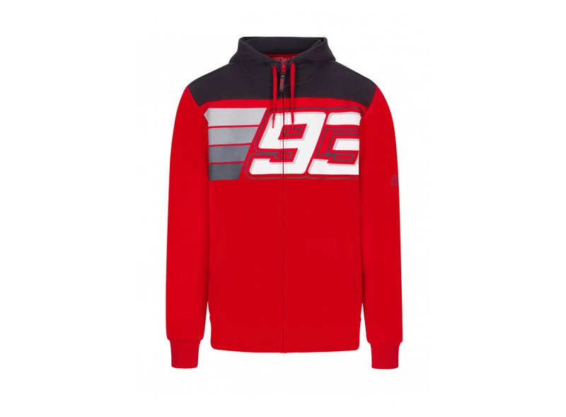 Sweat-shirt Marquez 93 rayures - Red
