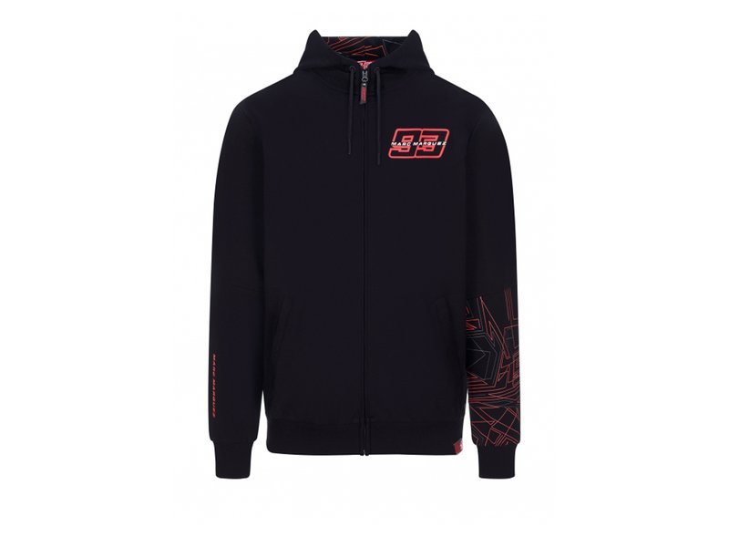 Sweatshirt Marquez MM93 - Black