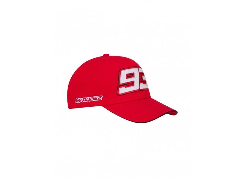 Gorra Marc Marquez 93 - Red