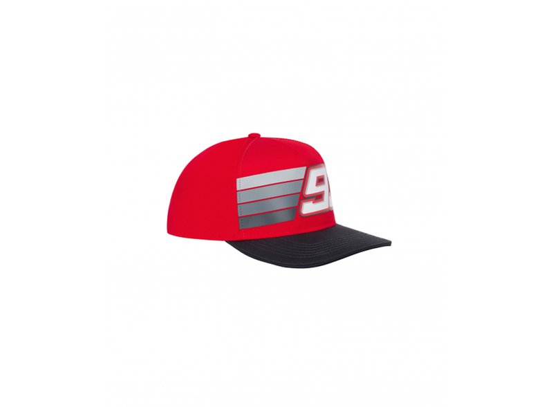 Marquez Stripes Cap - Red
