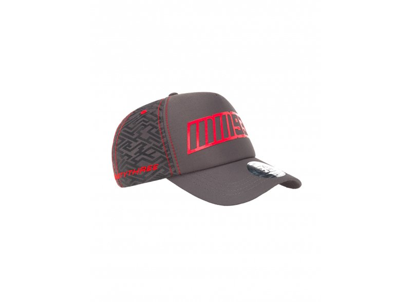 Casquette 93 Pattern - Grey