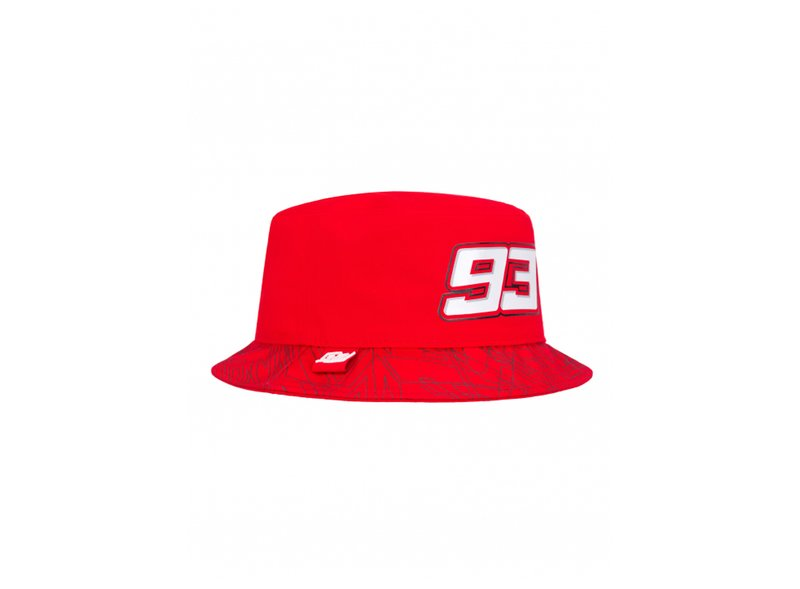 93 Bucket hat - Red
