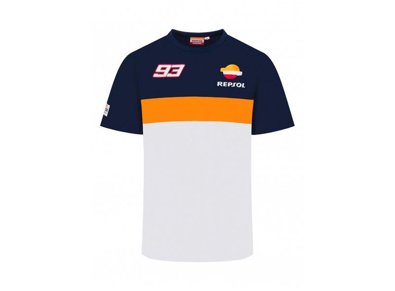 Camiseta Marc Marquez 93 Repsol - White