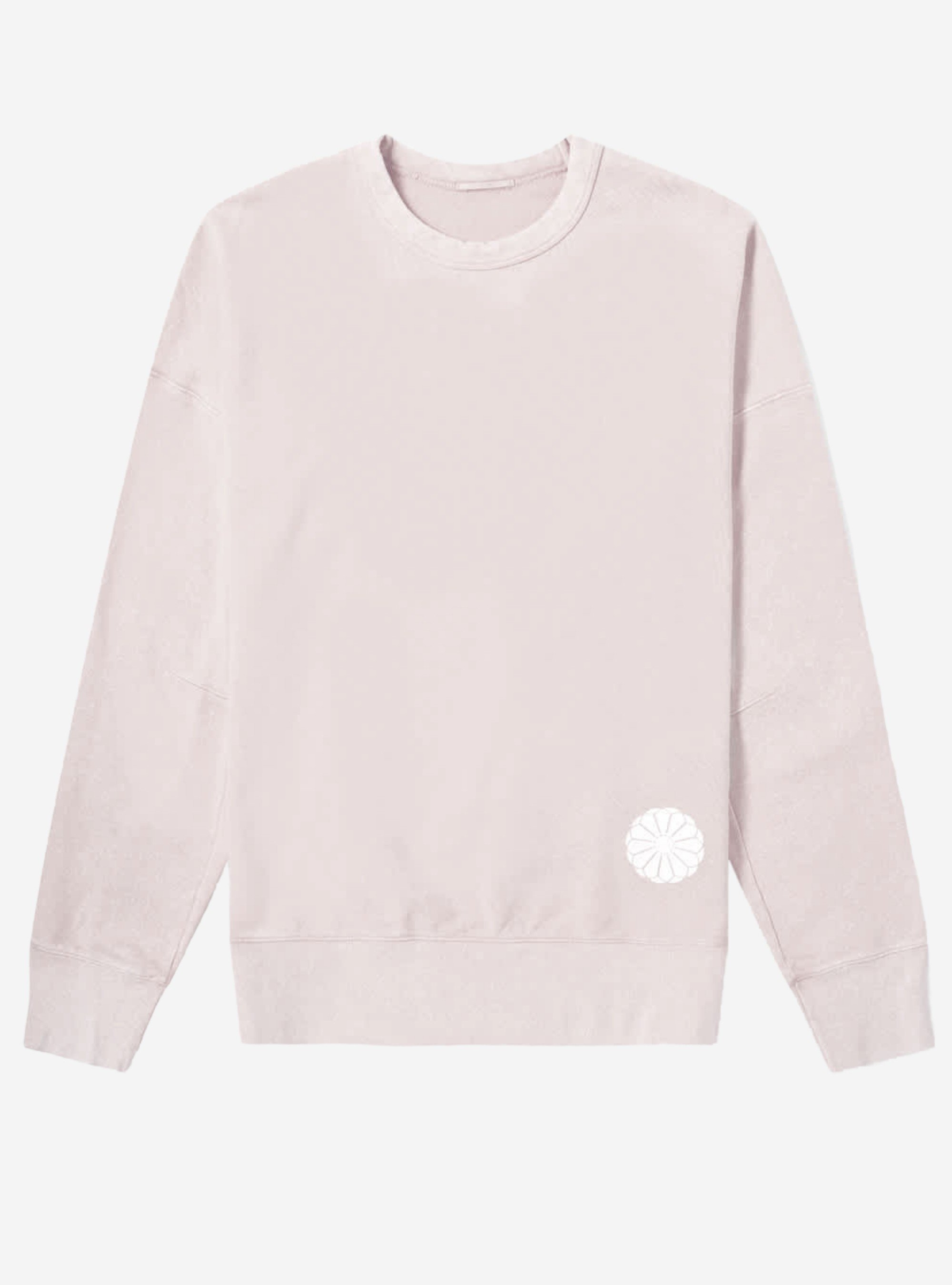 TEN C - LOGO PATCH SWEAT - Mauve Pink - TEN C