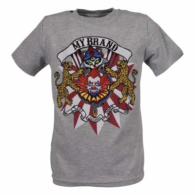 Clown cotton jersey t-shirt